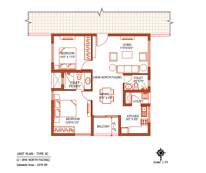 Double Bedroom House Plans North Facing Home Ideas Decor. Double Bedroom House Plans north Facing   Home Plans Ideas